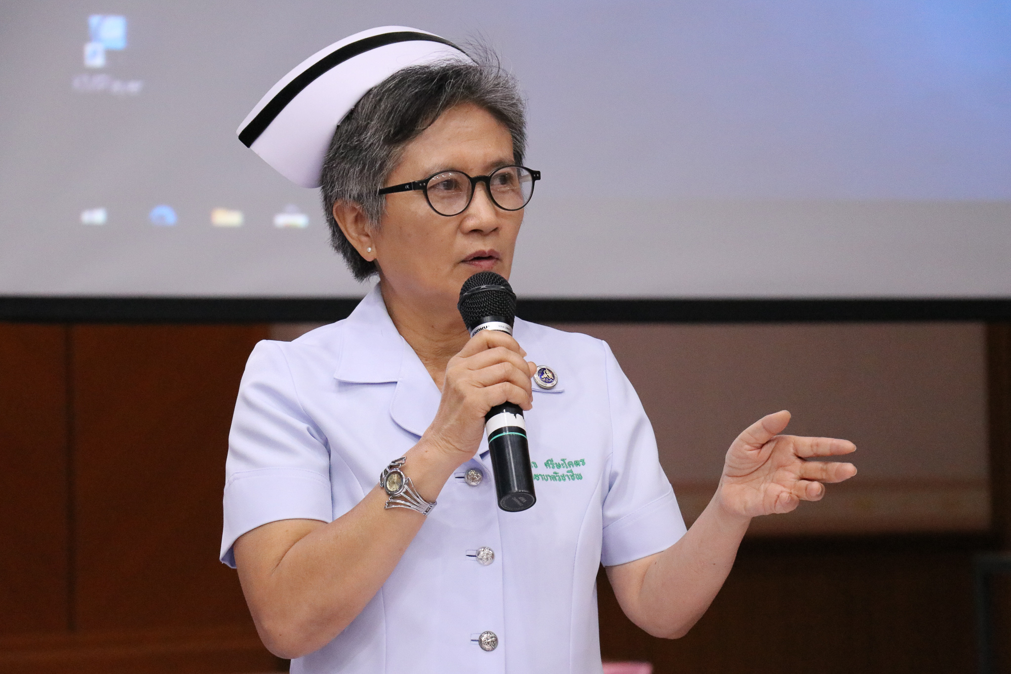 โรงพยาบาลมหาสารคาม จัดประชุมการจัดการเรื่องร้องเรียน